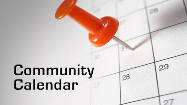 community calendar tuesday june 19 2018
